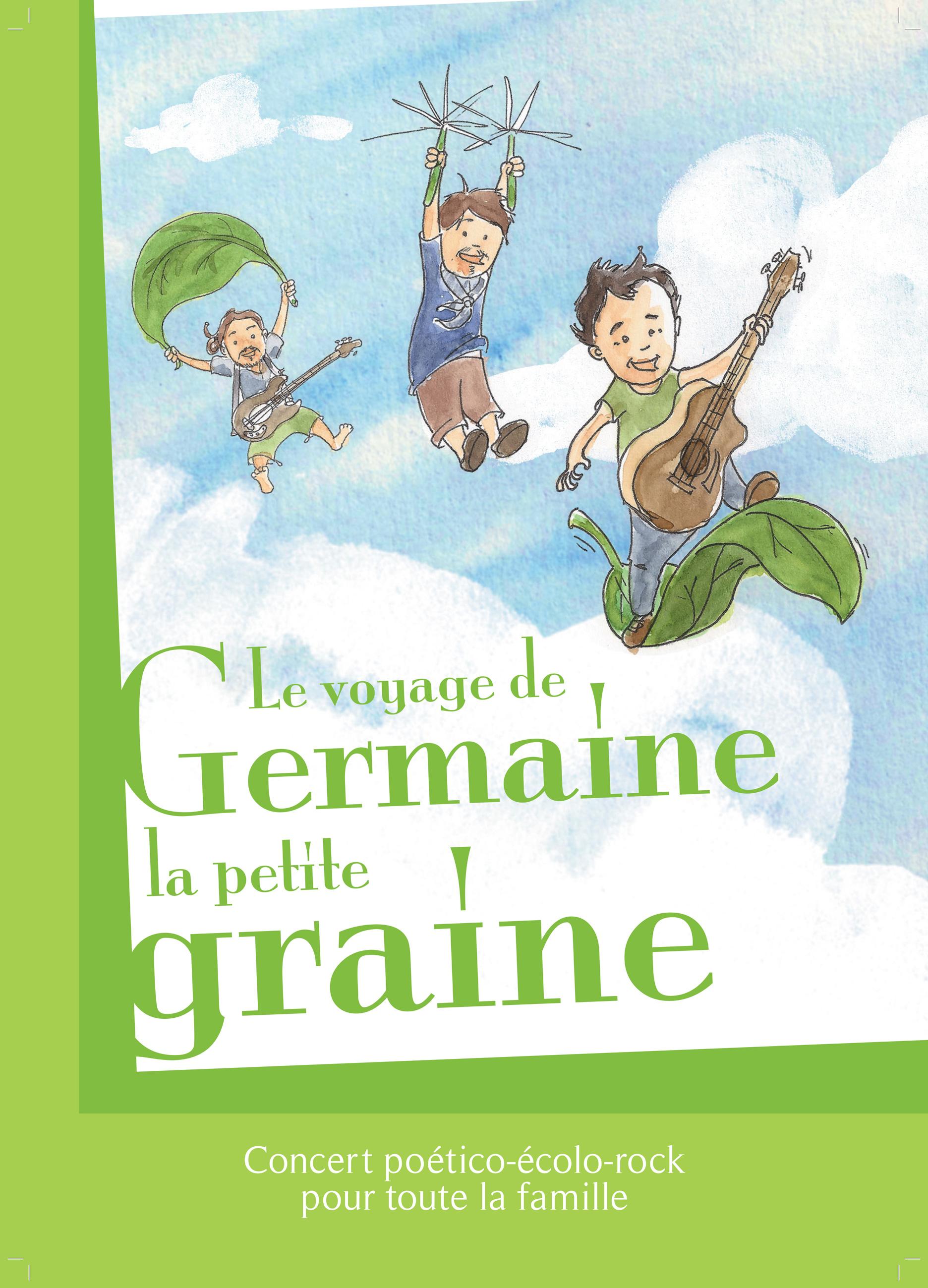 Thierry Ki ? - Le Voyage de Germaine la Petite Graine